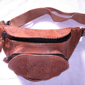 Bumbag round type no toad head