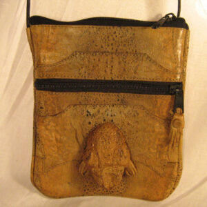 Cane Toad Shoulder Bag - Rectangular with Toad Head