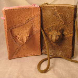 Toad Neck Purses - Random or Straight Cut With Toad Head