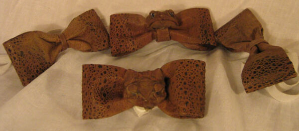 Cane Toad Bowties