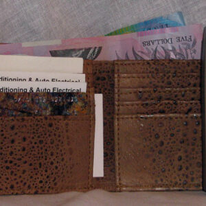 Cane Toad Mens Wallet - Style H